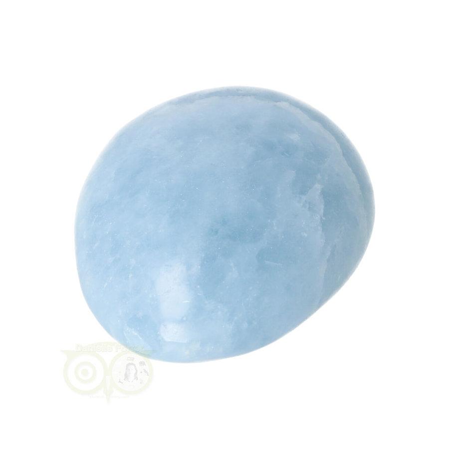 Blauwe Calciet handsteen Nr 45 - 99  gram - Madagaskar-7