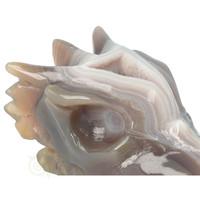 thumb-Agaat Geode Drakenschedel 344 gram-2