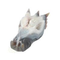 thumb-Agaat Geode Drakenschedel 910 gram-5