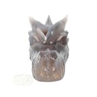 thumb-Agaat Geode Drakenschedel 594 gram-5