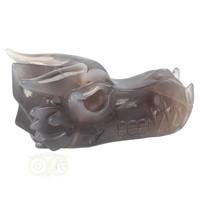 thumb-Agaat Geode Drakenschedel 594 gram-8