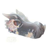 thumb-Agaat Drakenschedel 520 gram-1