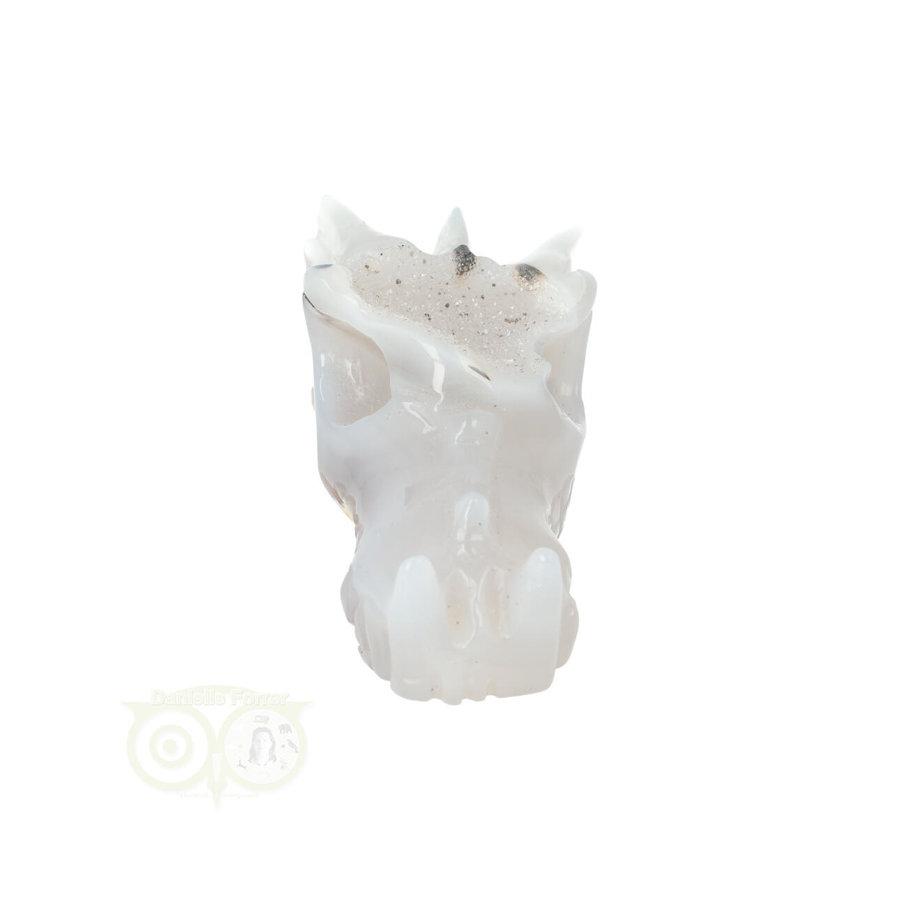 Agaat Geode Drakenschedel 157 gram-5