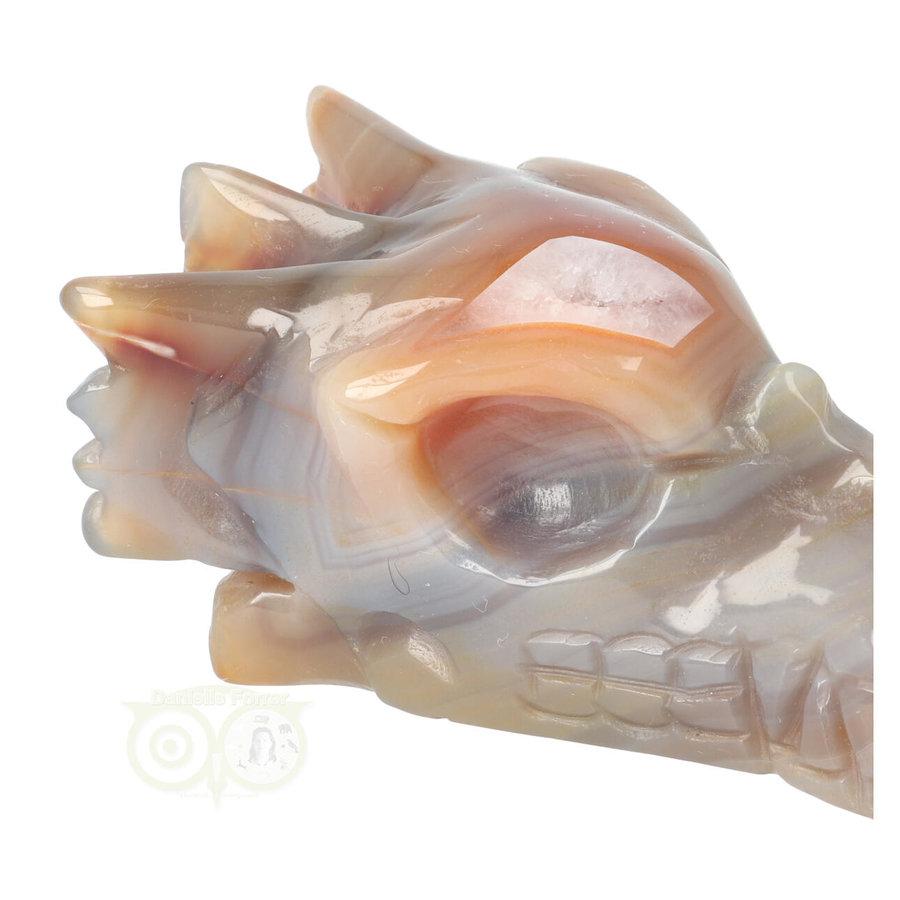 Agaat Drakenschedel 327 gram-2