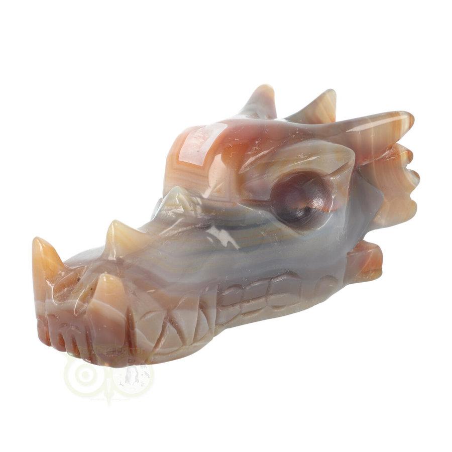 Agaat Drakenschedel 327 gram-7