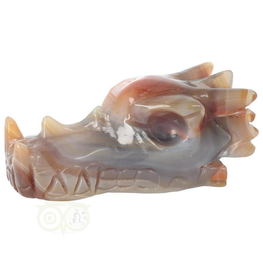 Agaat Drakenschedel 327 gram-8
