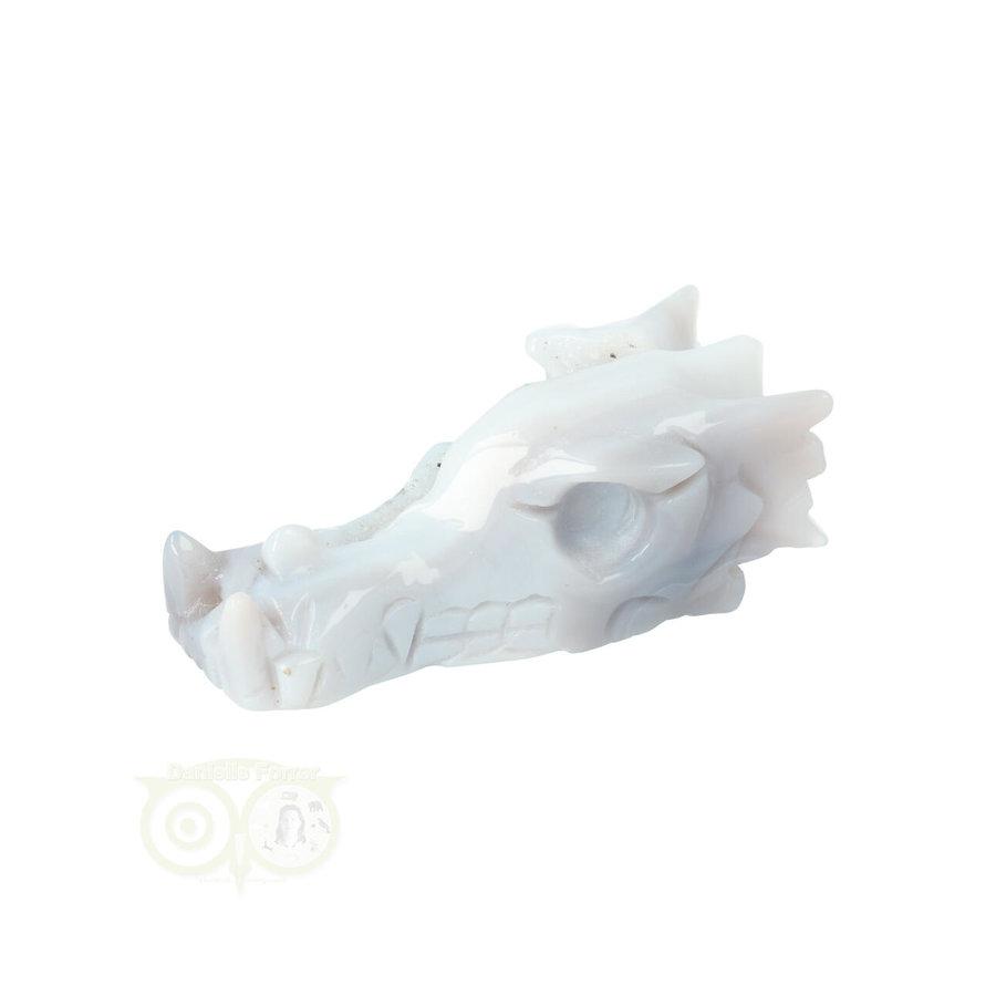 Agaat Geode Drakenschedel 112 gram-6