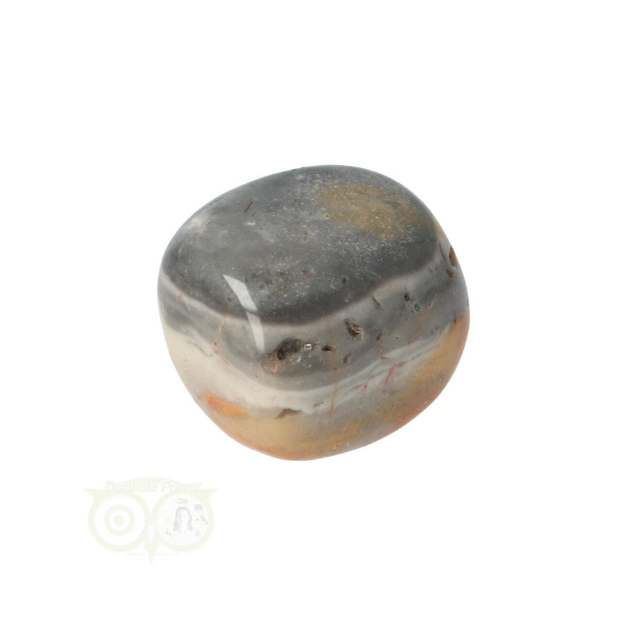 Crazy Lace Agaat trommelsteen Nr 21 -18 gram-10