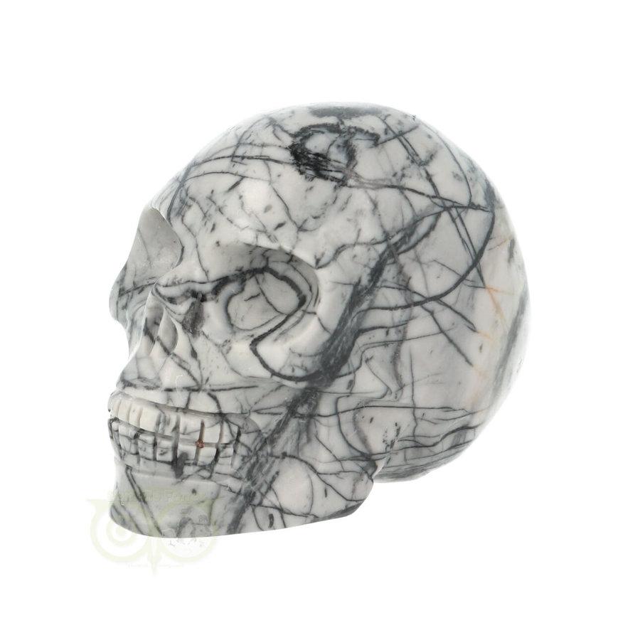 Picasso Jaspis schedel Nr 10 - 103 gram-5
