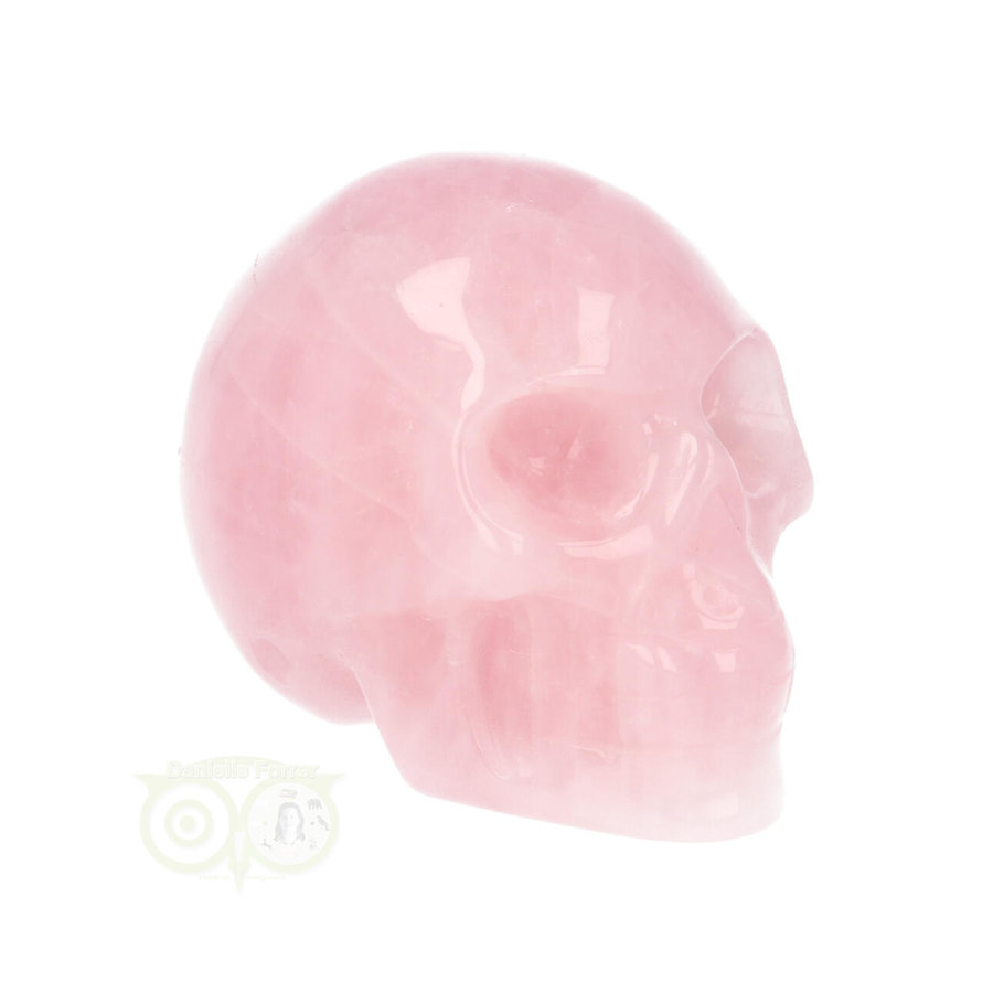 Rozenkwarts kristallen schedel Nr 15 - 97 gram-1