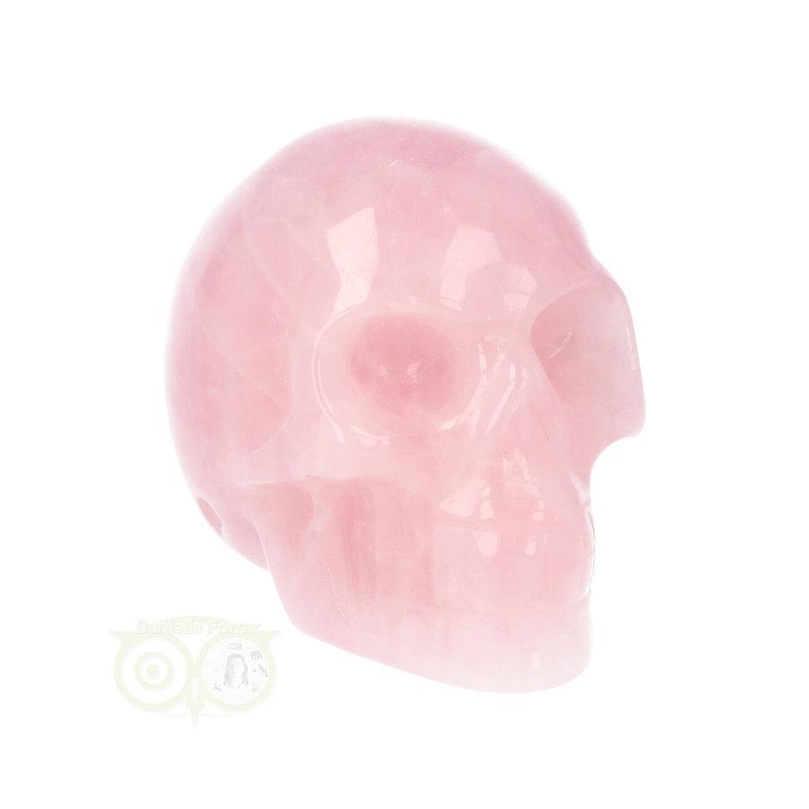 Rozenkwarts kristallen schedel Nr 15 - 97 gram-3