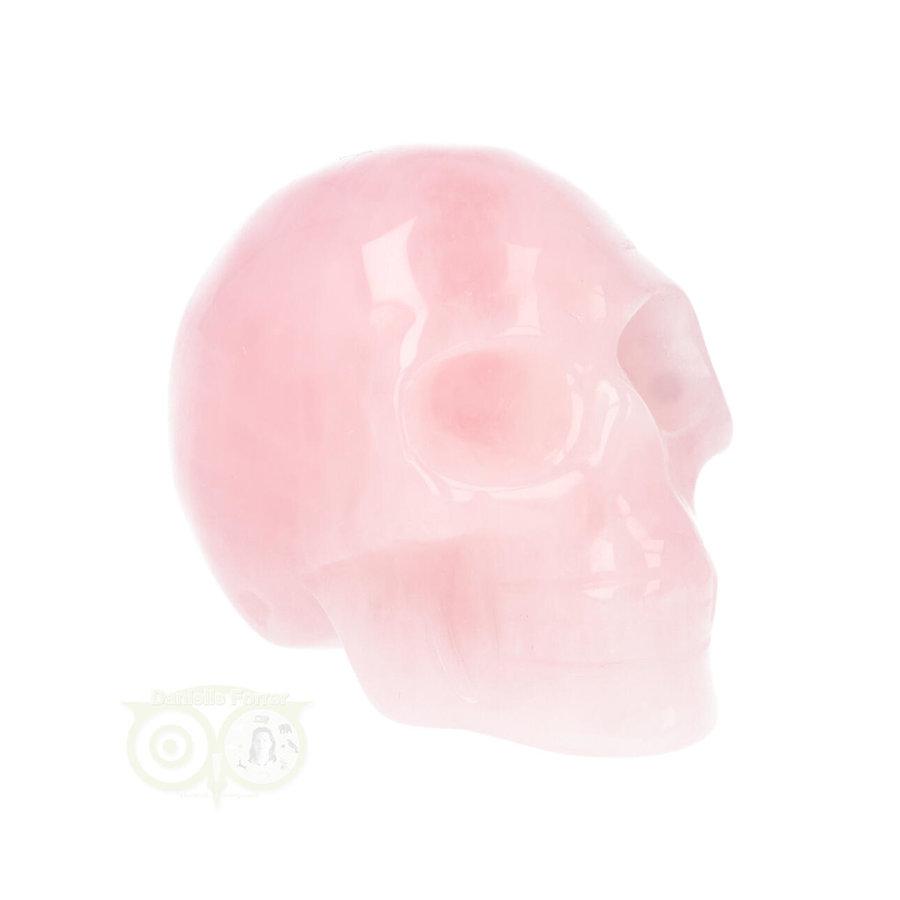 Rozenkwarts kristallen schedel Nr 16 - 92 gram-1