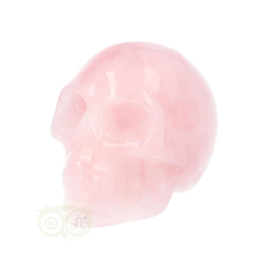 Rozenkwarts kristallen schedel Nr 16 - 92 gram-5