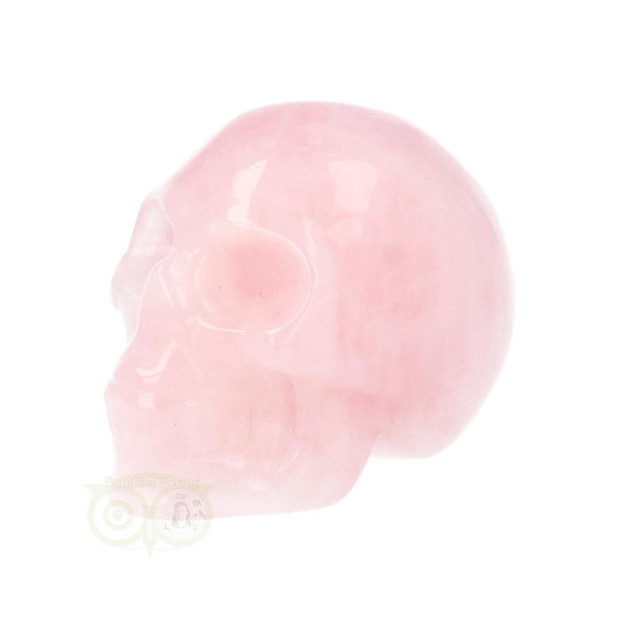Rozenkwarts kristallen schedel Nr 16 - 92 gram-6