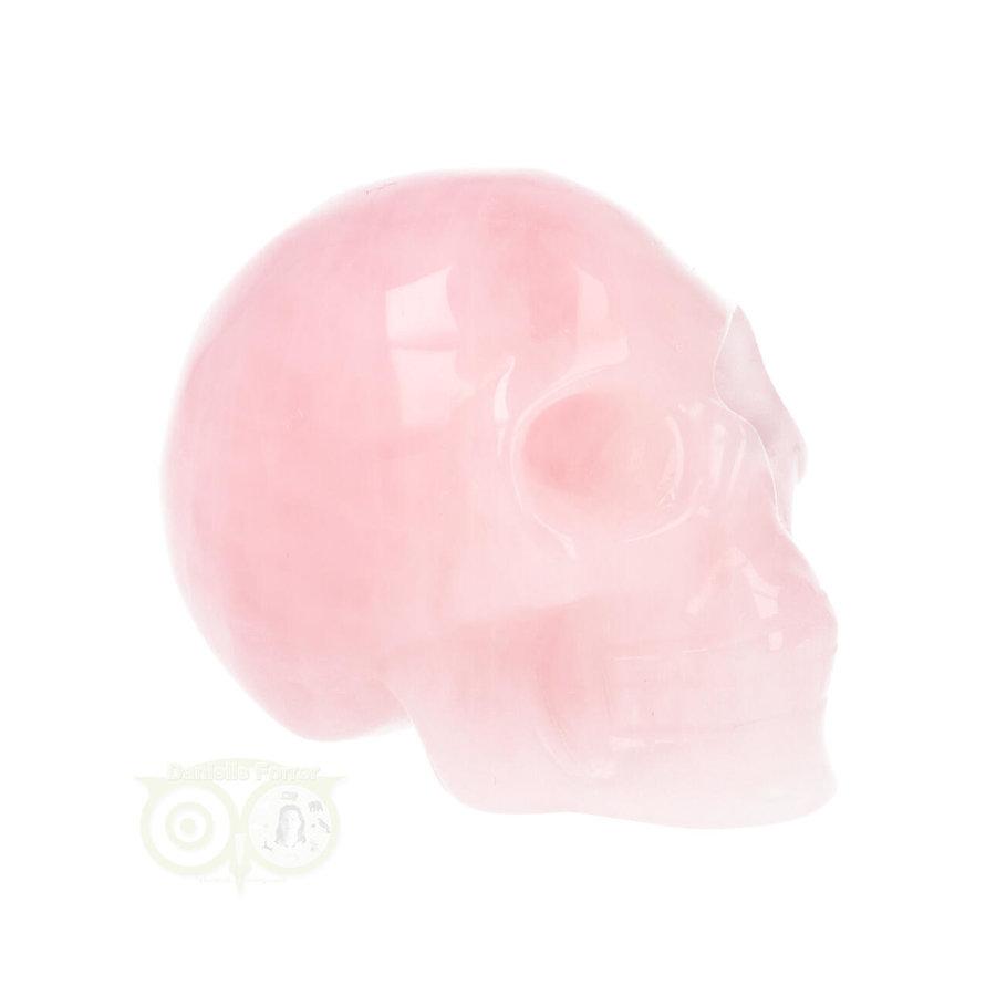 Rozenkwarts kristallen schedel Nr 16 - 92 gram-10