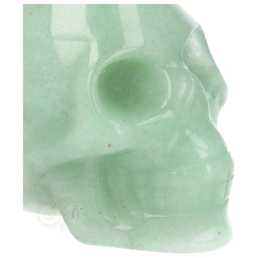 Groene Aventurijn schedel Nr 10 - 84 gram-2
