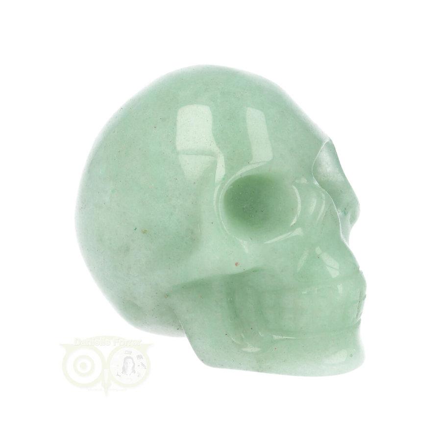 Groene Aventurijn schedel Nr 10 - 84 gram-1