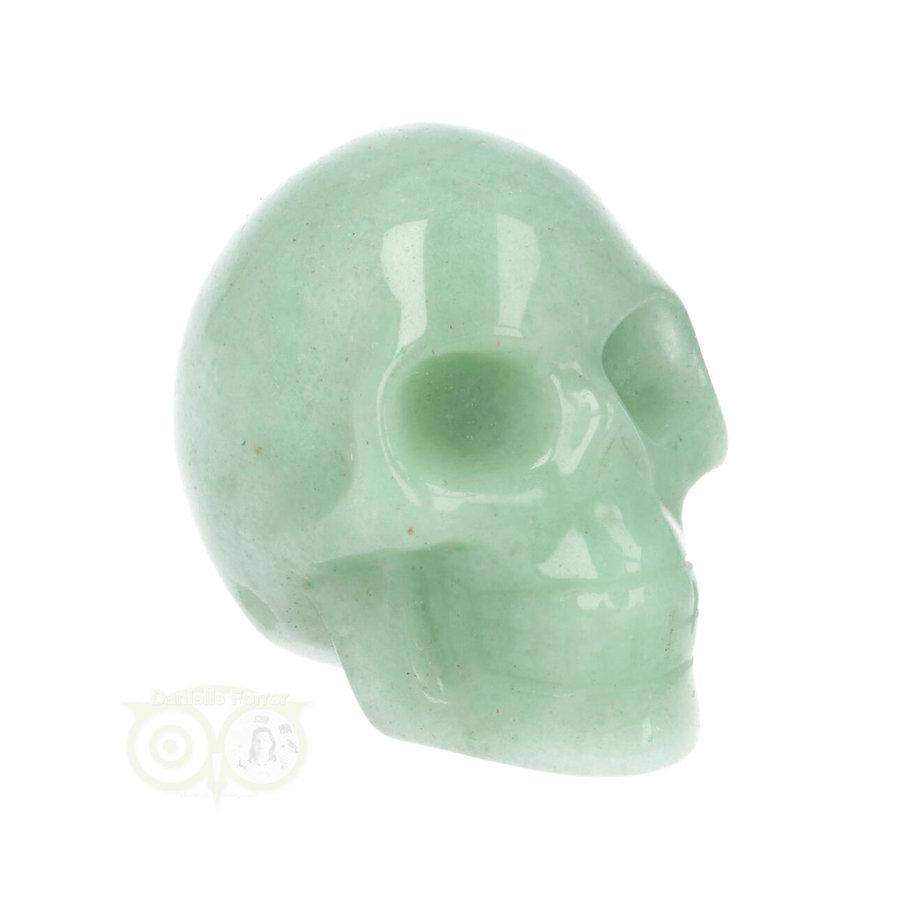Groene Aventurijn schedel Nr 10 - 84 gram-3