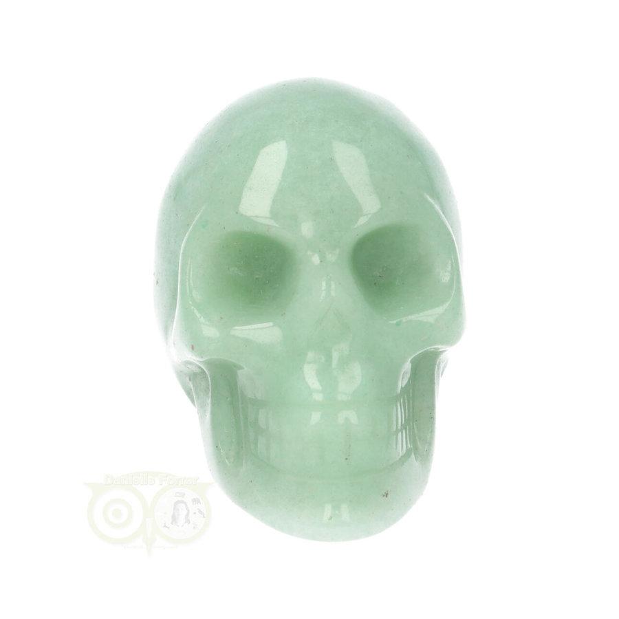Groene Aventurijn schedel Nr 10 - 84 gram-4
