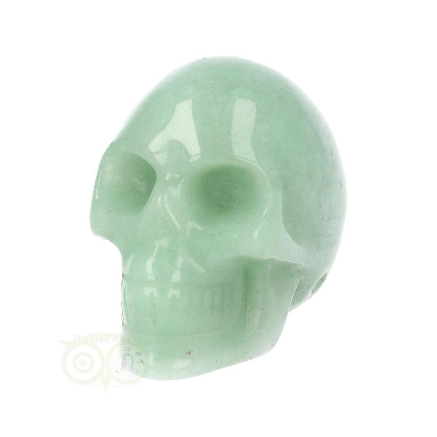 Groene Aventurijn schedel Nr 10 - 84 gram-5