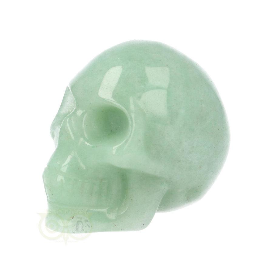 Groene Aventurijn schedel Nr 10 - 84 gram-6