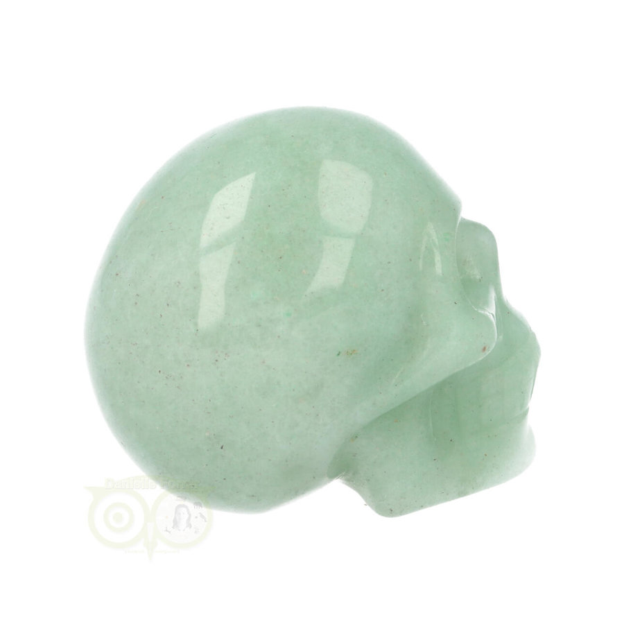 Groene Aventurijn schedel Nr 10 - 84 gram-7