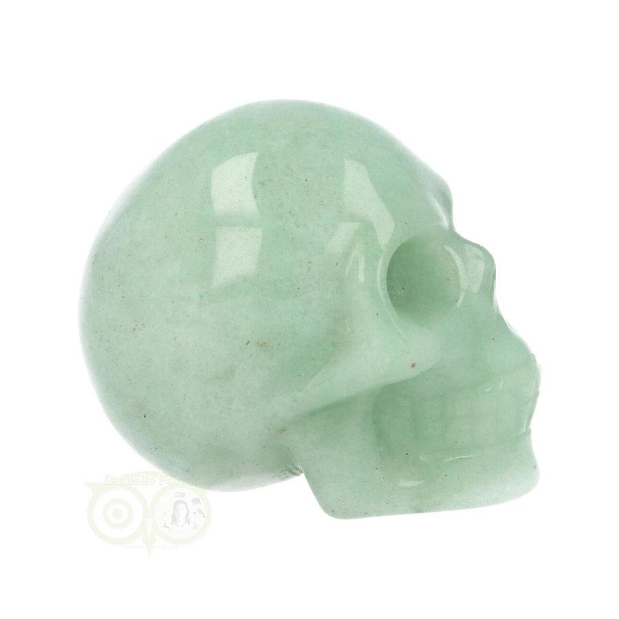 Groene Aventurijn schedel Nr 10 - 84 gram-9
