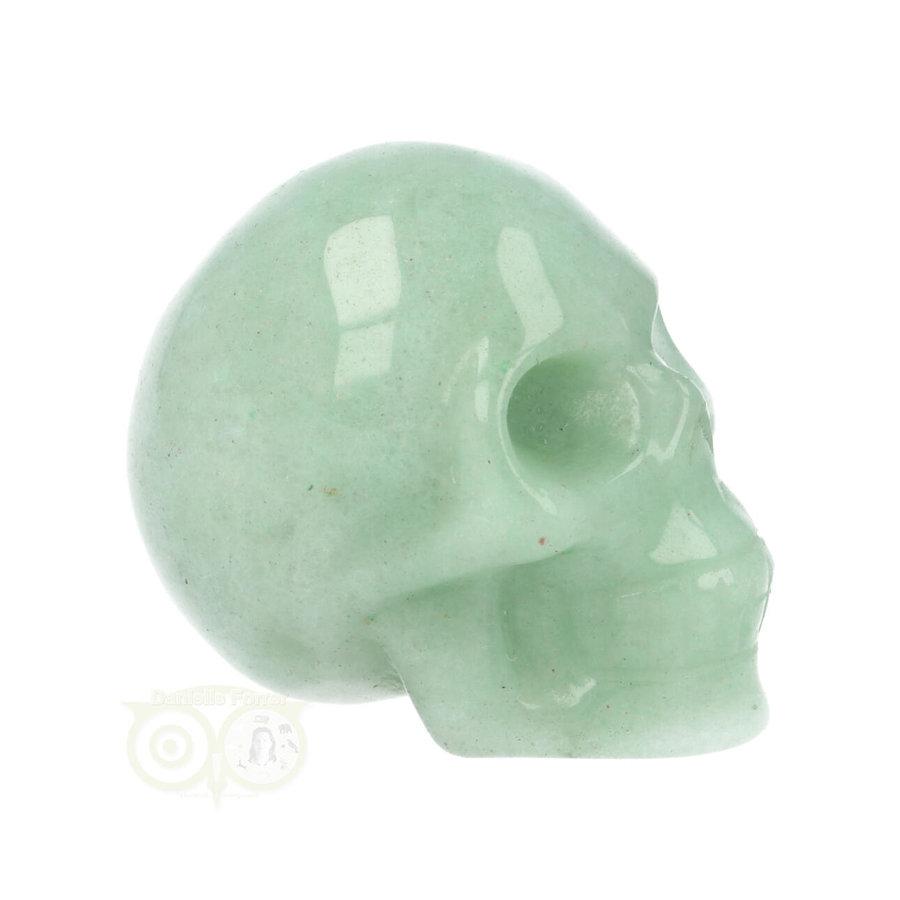 Groene Aventurijn schedel Nr 10 - 84 gram-10