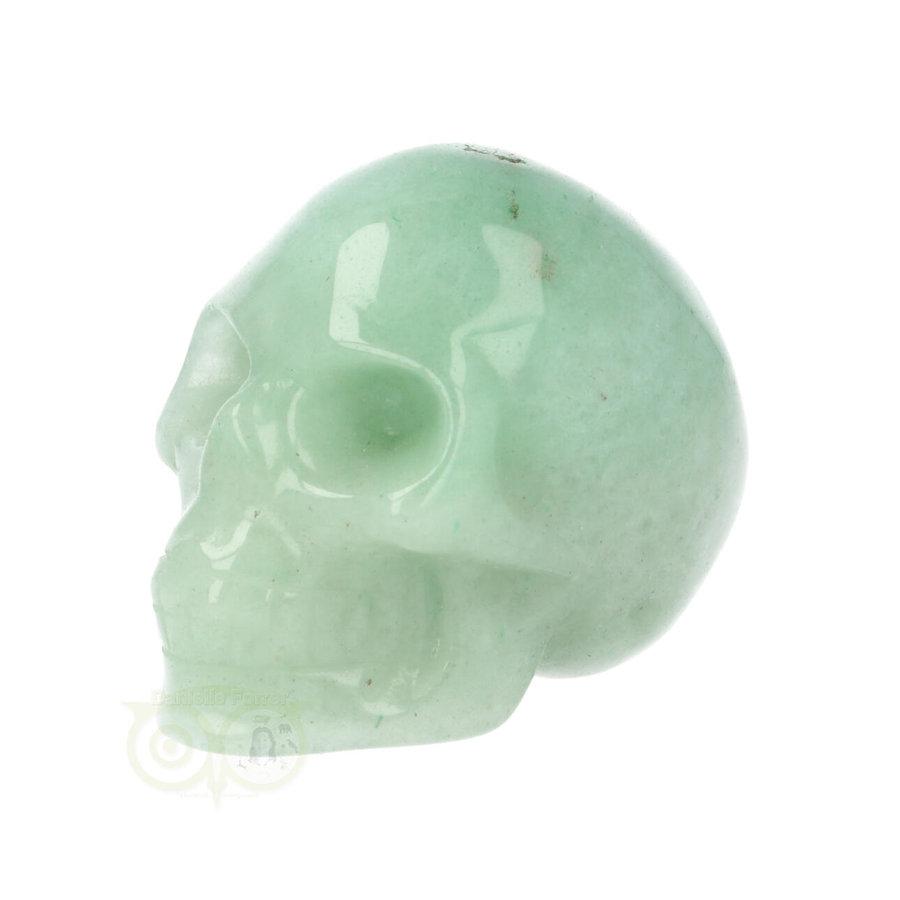 Groene Aventurijn schedel Nr 11 - 101 gram-6