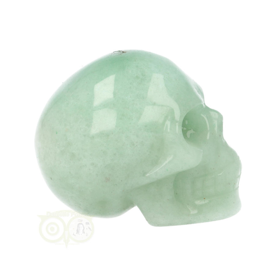 Groene Aventurijn schedel Nr 11 - 101 gram-8