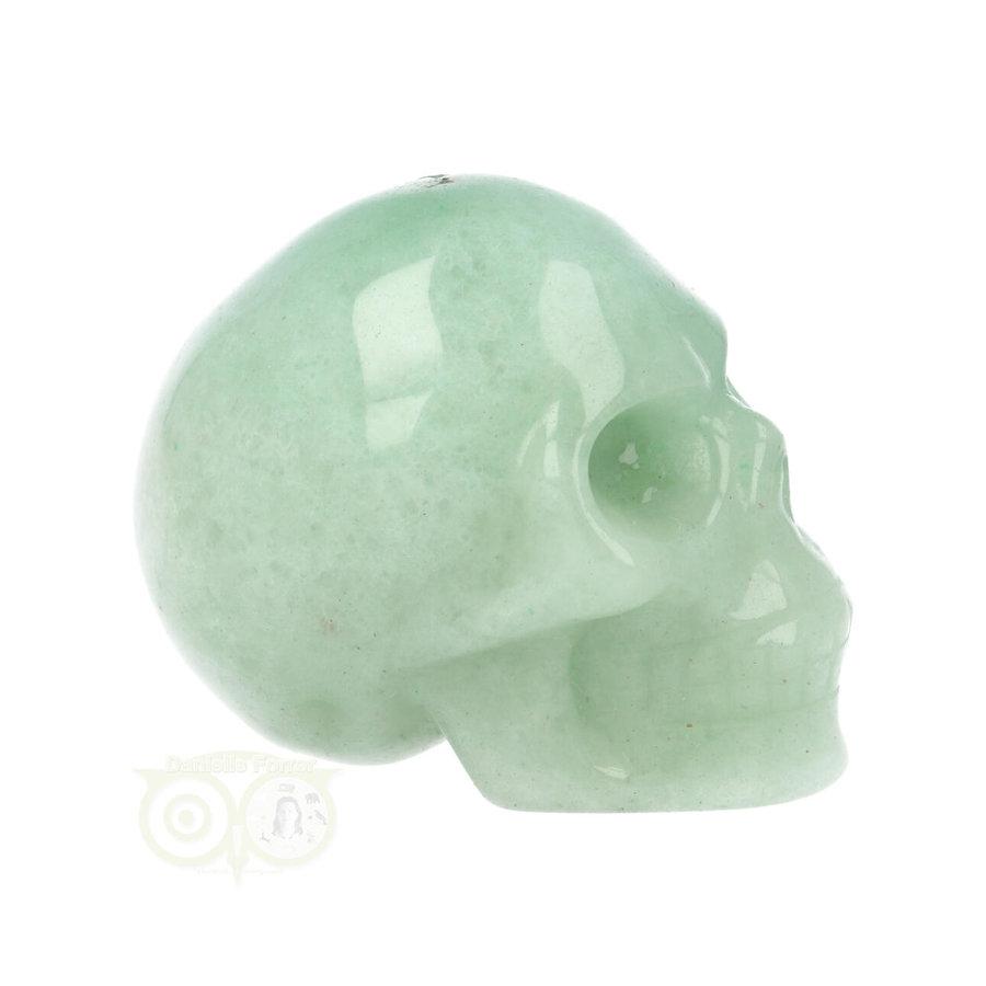 Groene Aventurijn schedel Nr 11 - 101 gram-9