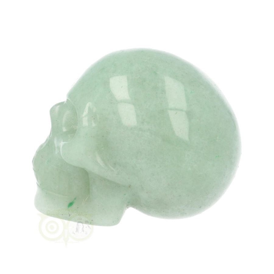 Groene Aventurijn schedel Nr 12 - 100 gram-7