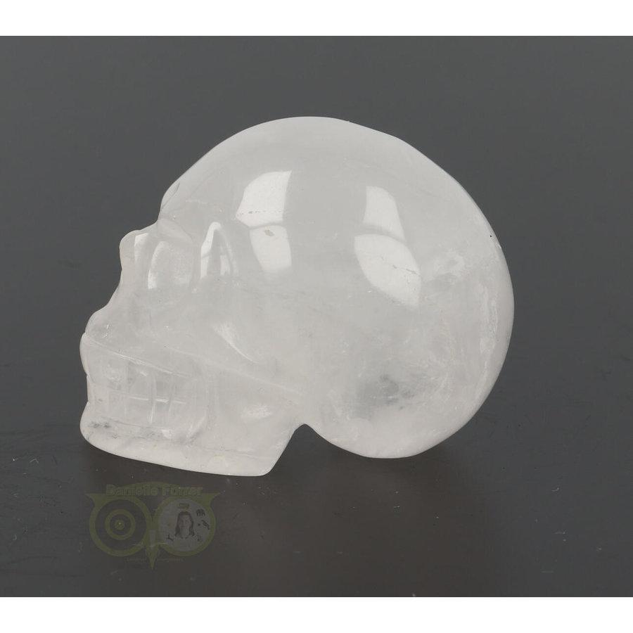 Bergkristal schedel Nr 8 - 105 gram-5