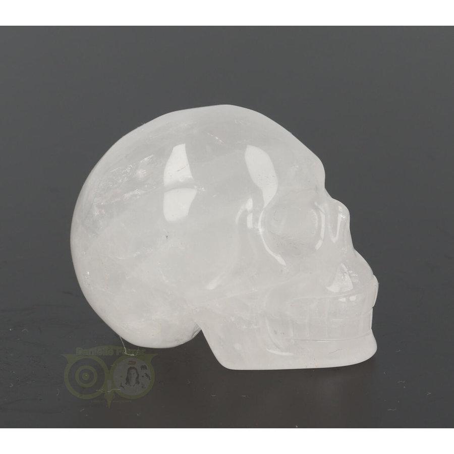 Bergkristal schedel Nr 8 - 105 gram-6