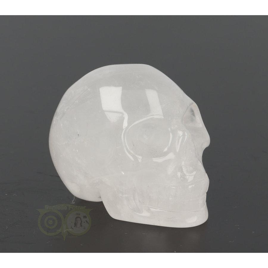 Bergkristal schedel Nr 8 - 105 gram-7