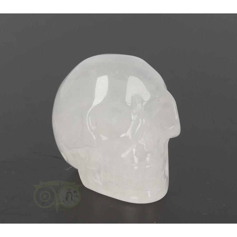 Bergkristal schedel Nr 8 - 105 gram-8