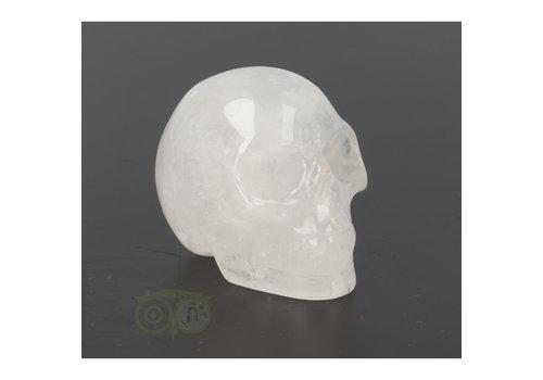 Bergkristal schedel Nr 9