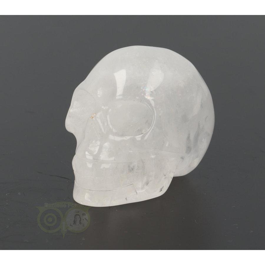 Bergkristal schedel Nr 9 - 102 gram-4