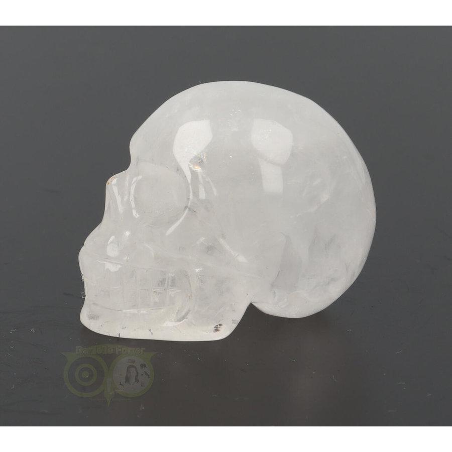 Bergkristal schedel Nr 9 - 102 gram-5
