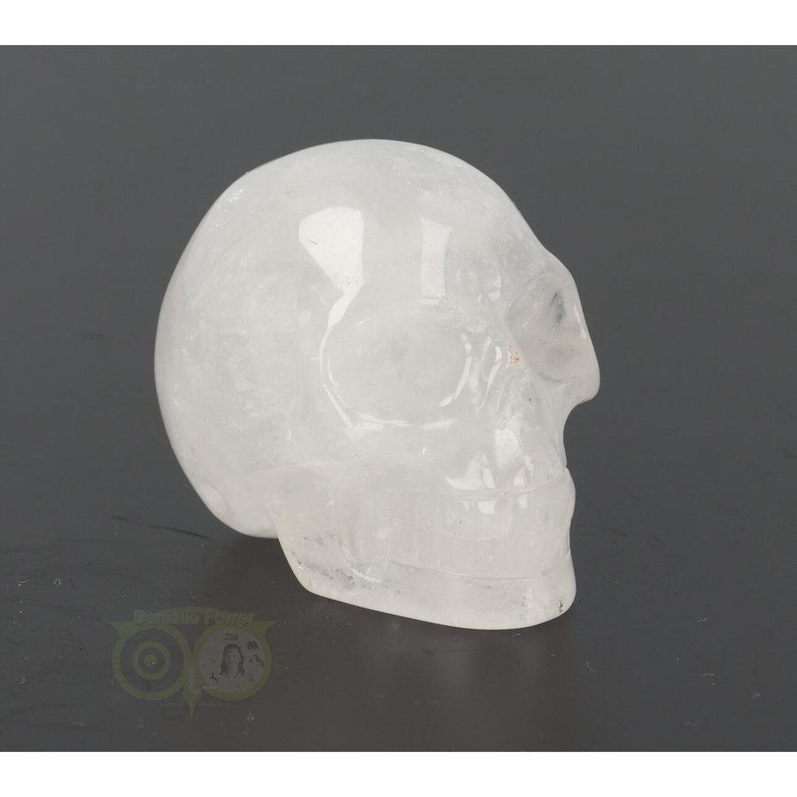 Bergkristal schedel Nr 9 - 102 gram-10