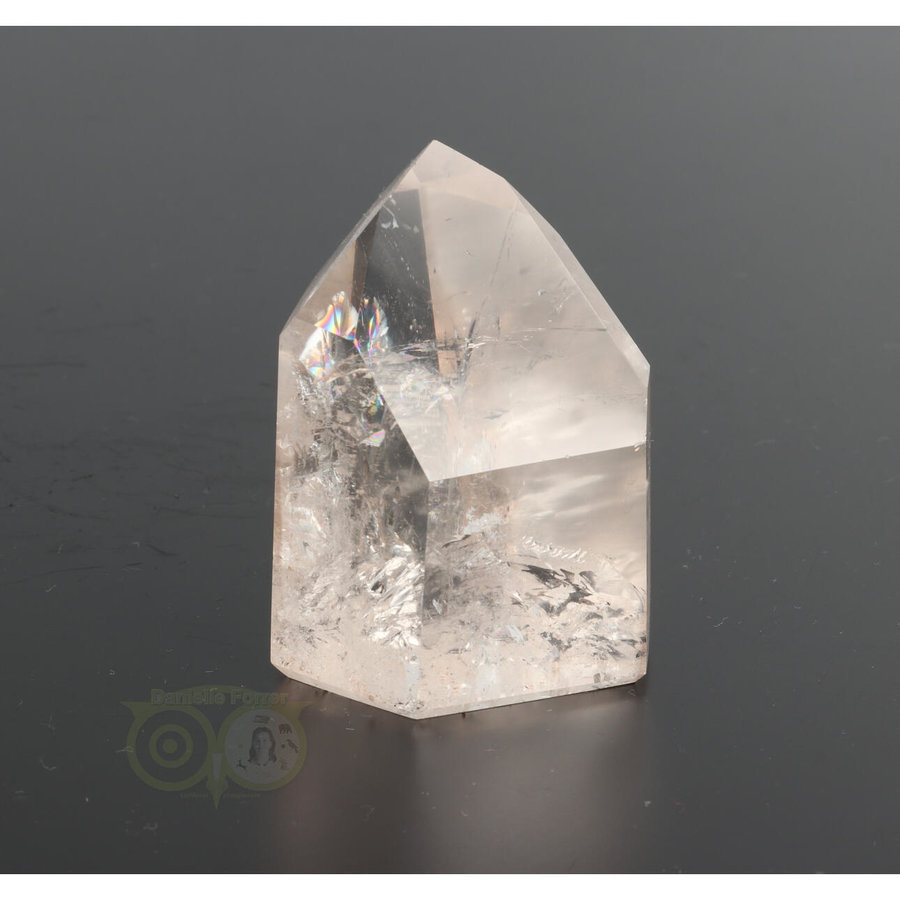 Bergkristal  punt  Nr 61 - 185 gram - Madagaskar-2