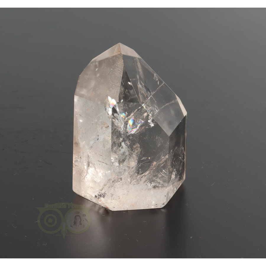 Bergkristal  punt  Nr 61 - 185 gram - Madagaskar-4