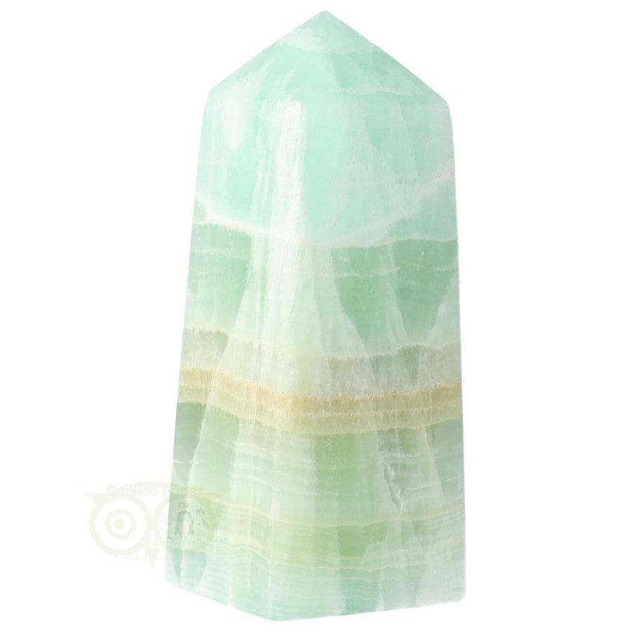 Caribbean Blue Calciet Punt - obelisk Nr 11 -  406 gram-1