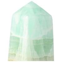 thumb-Caribbean Blue Calciet Punt - obelisk Nr 11 -  406 gram-2