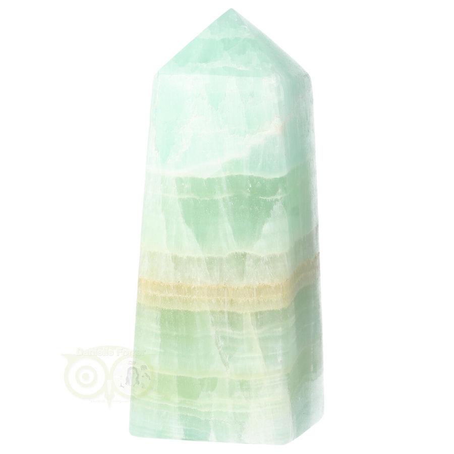 Caribbean Blue Calciet Punt - obelisk Nr 11 -  406 gram-3