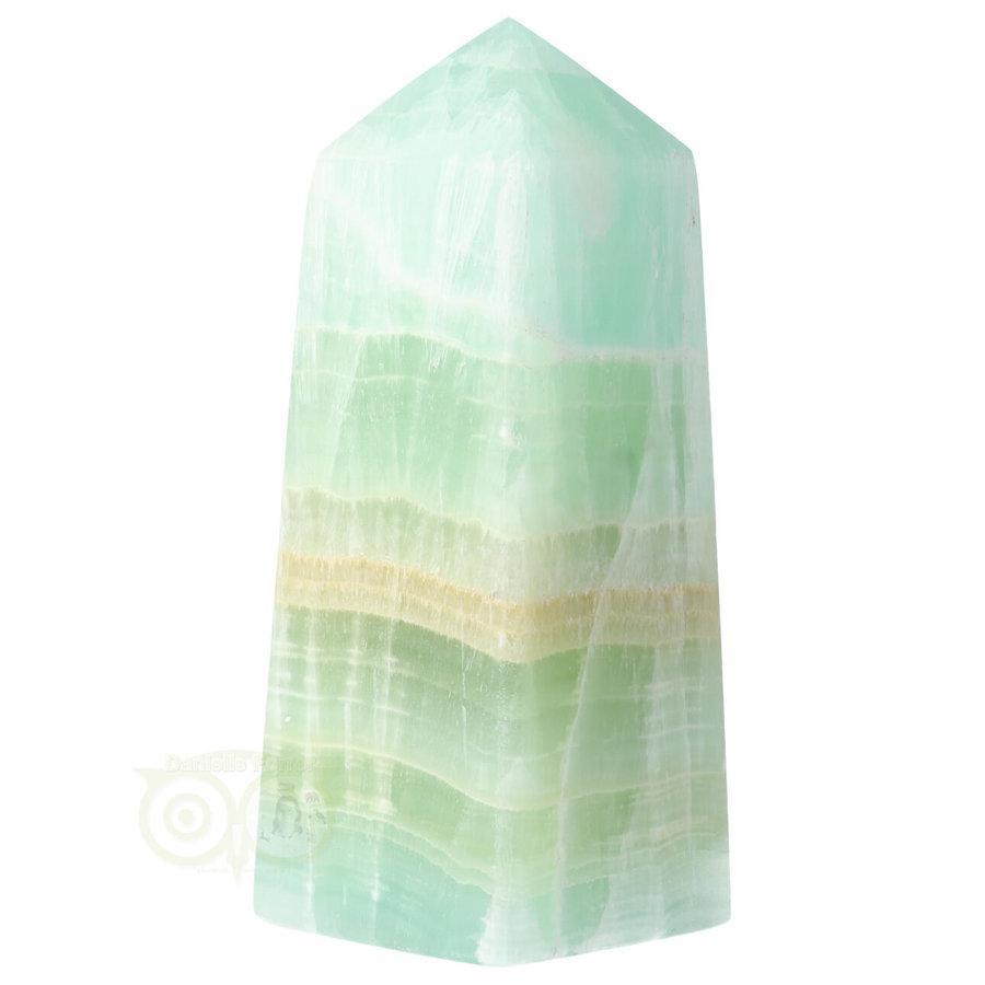 Caribbean Blue Calciet Punt - obelisk Nr 11 -  406 gram-9