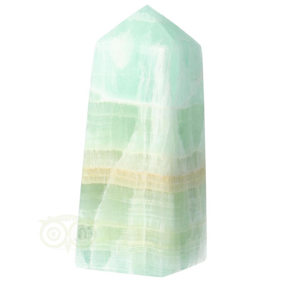 Caribbean Blue Calciet Punt - obelisk Nr 11 -  406 gram-10