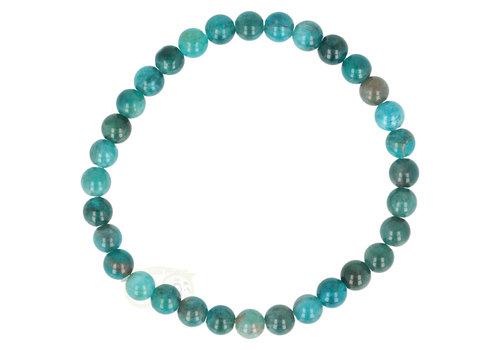 Blauwe Apatiet armband 6 mm