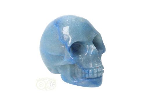 Blauwe kwarts schedel Nr 8