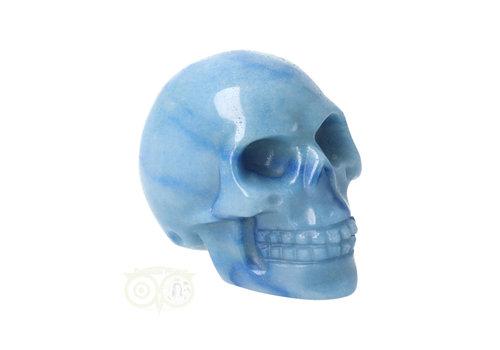 Blauwe kwarts schedel Nr 9